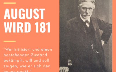 #5 Herzlichen Glückwunsch zum 181. Geburtstag, August Bebel!