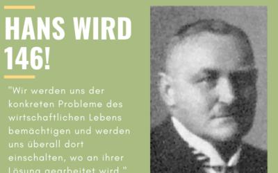 #6 Herzlichen Glückwunsch zum 146. Geburtstag, Hans Böckler!